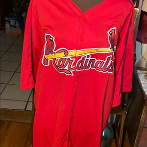 MLB Cardinals McGwire (25) jersey XL